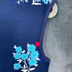 Draper James Dresses - CLEARANCE Draper James Nassau Navy Floral Dress XS
